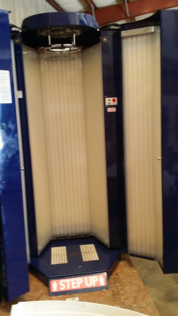 Used Standup Tanning Booths