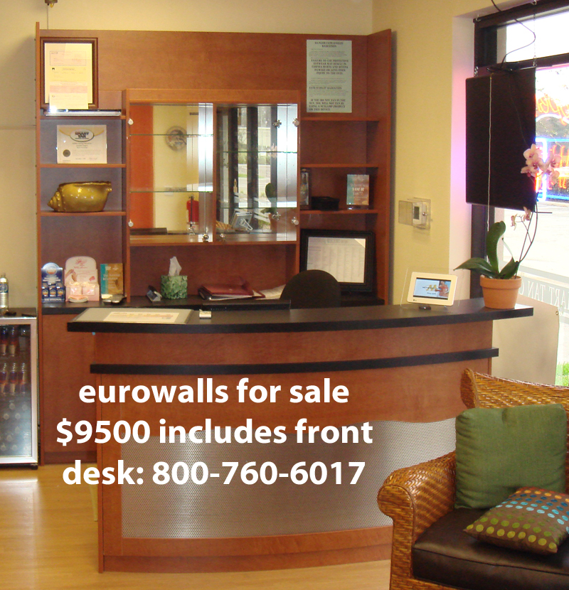 tanning salon walls for sale